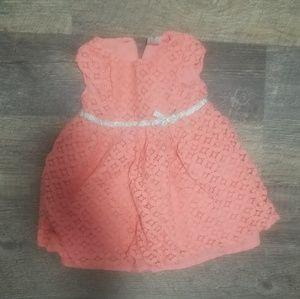 Adorable salmon dress